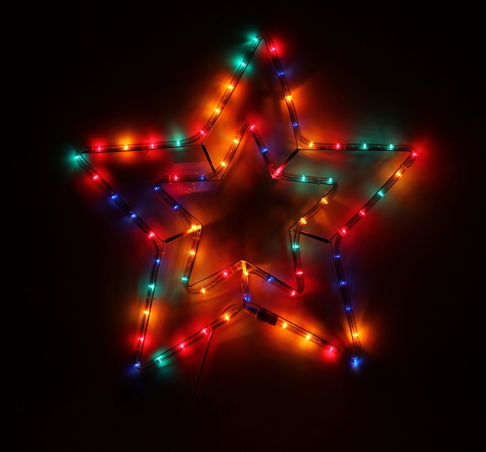 Звезда 2 уровня 55х55 см, Лампы
