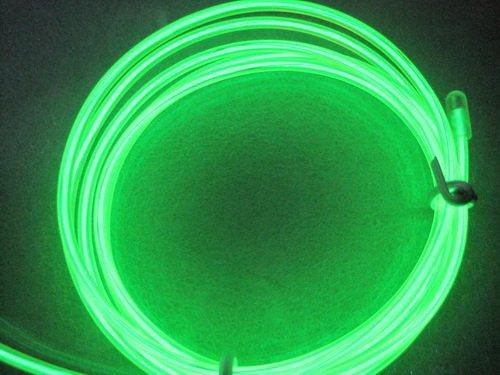 Дюралайт 2-х проводный D 10 мм неоновый зеленый