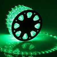 Дюралайт 2-х проводный D 10 мм зеленый