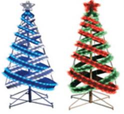 LED-LFB-4FT-12V-C-B/W Мотив Спиральная елка с подсветкой светодиодами