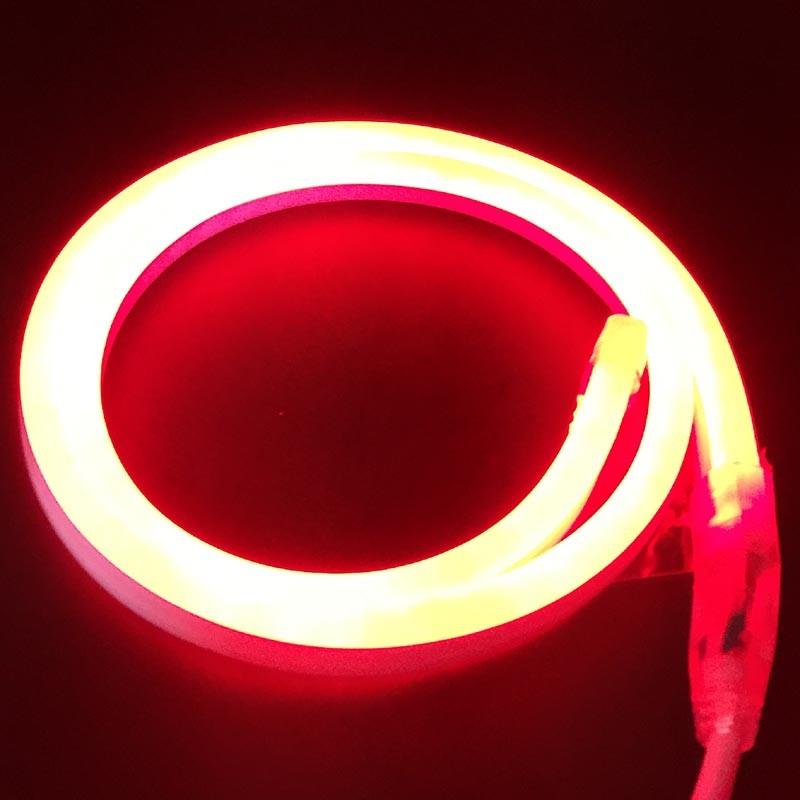 Дюралайт 2-х проводный D 10 мм неоновый красный