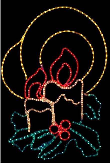 Фигура две свечки