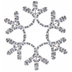 Фигура Снежинка цвет тепло-белый, размер 55*55 см