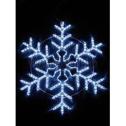 Фигура световая Большая Снежинка цвет синий