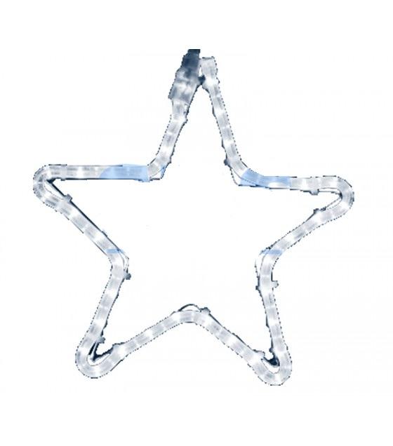 Фигура Звездочка цвет тепло-белый, размер 30*28 см
