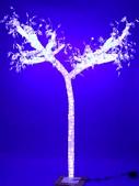 Дерево из акрила с подсветкой белого цвета 2,5 м