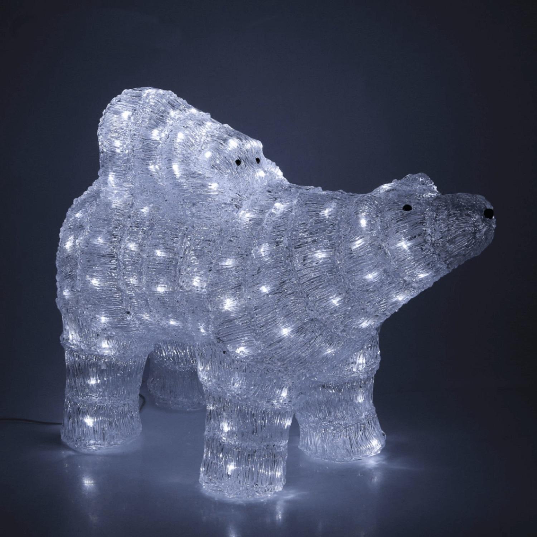 Медведь с медвежонком width=
