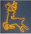 каркасный олень желтый