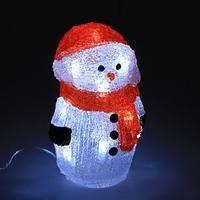 Снеговик на батарейках