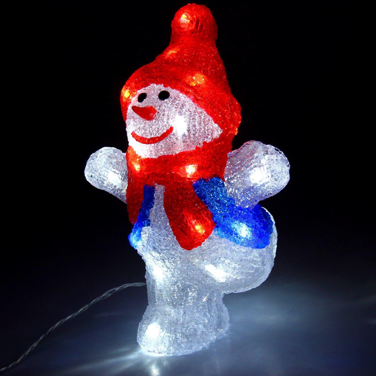 Снеговик танцор малый