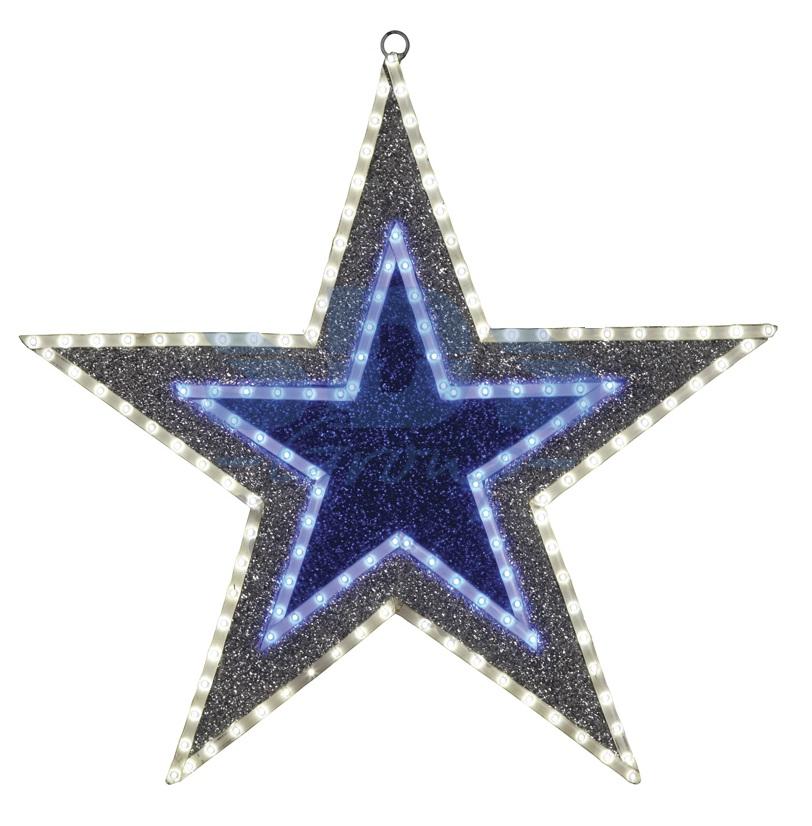 Фигура Звезда бархатная,