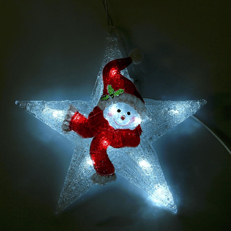 Снеговик-звезда