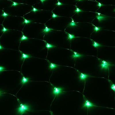 Гирлянда сетка зеленая 2м