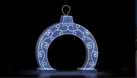 Композиция Арка-шар LED-EM-010