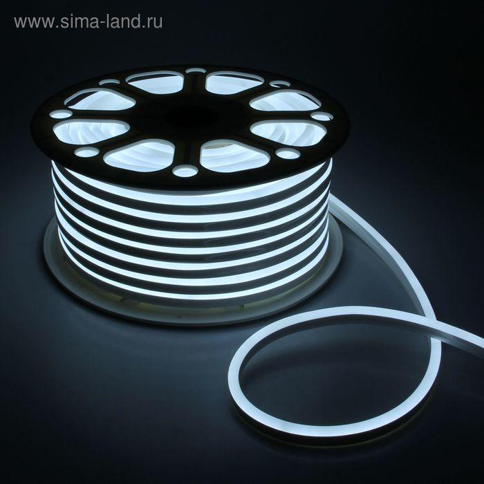 Гибкий неон 8 х 16 мм, 50 м. LED-120-SMD2835, 220 V, КРАСНЫЙ