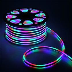 Гибкий неон 8 х 16 мм, 50 м. LED-120-SMD5050, 220 V, RGB