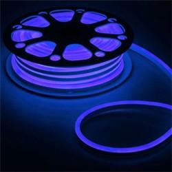Гибкий неон 8 х 16 мм, 25 м. LED-120-SMD2835, 220 V, СИНИЙ