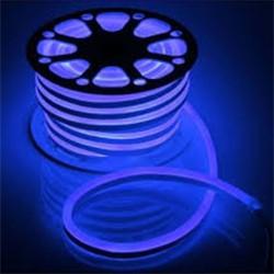 Гибкий неон 8 х 16 мм, 50 м. LED-120-SMD2835, 220 V, СИНИЙ