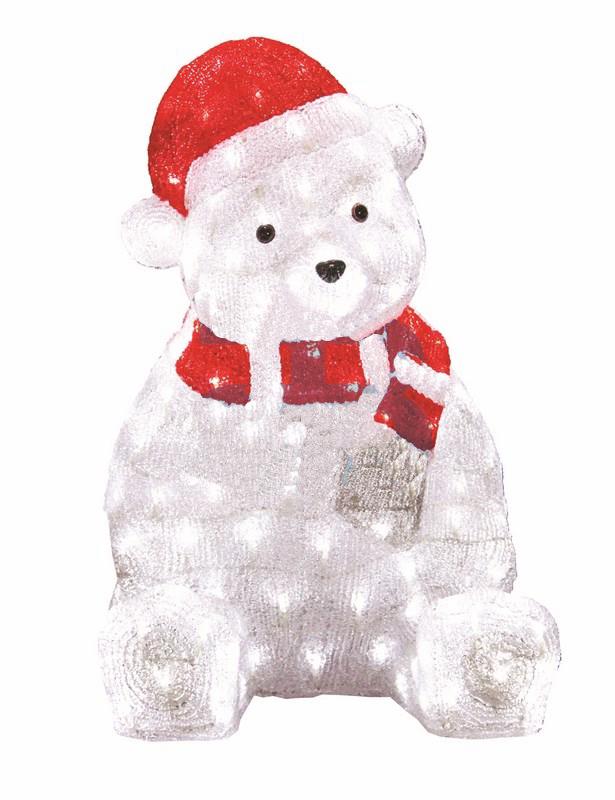 Медвежонок в красном колпаке 56 см