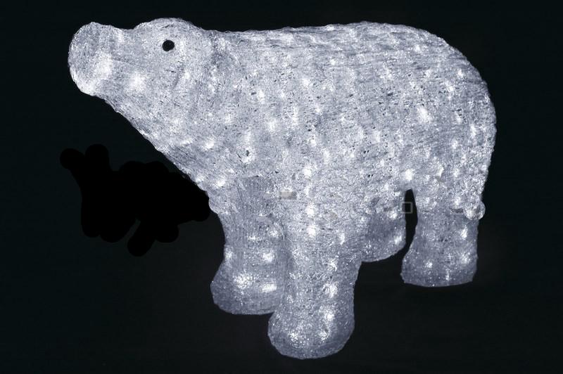 Белый медведь 80х55 см