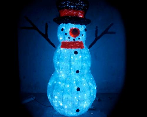 3D фигура Снеговик KTA-074
