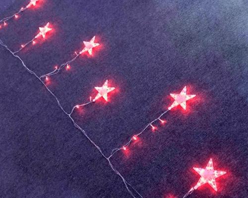 Бахрома из звезд Premium
