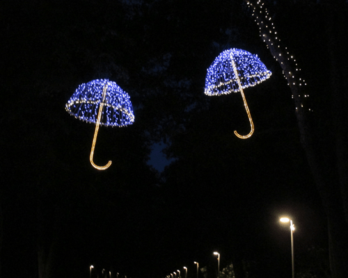 3D зонтик, 3D полузонтик