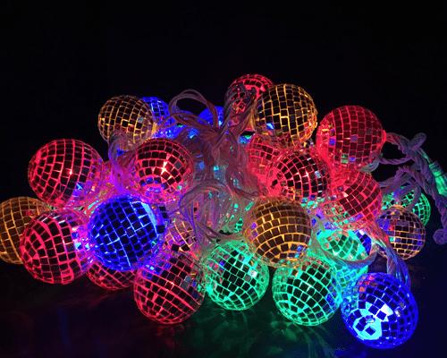 Гирлянда диско-шарики