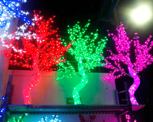 Светодиодное дерево Кристалл