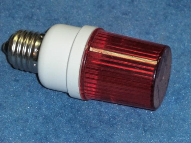 Строб-лампа с цоколем Е27