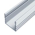 Накладной алюминиевый профиль (16х12мм)