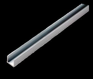 профиль для монтажа гибкого неона (алюминий).