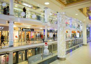 Светодиодное оформление магазинов и торговых центров
