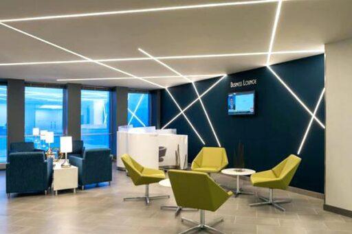 Применение светодиодных лент в офисе