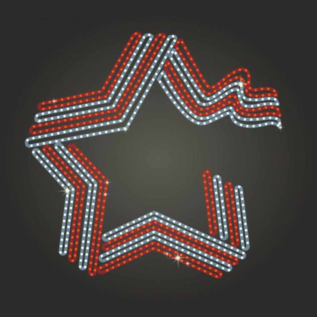 ленточная звезда