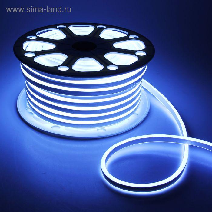 Гибкий неон 8 х 18 мм, 50 м. LED-120-SMD2835, 220 V, БЕЛЫЙ