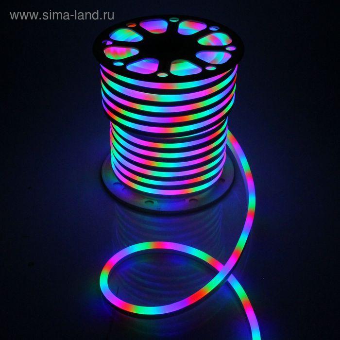 Гибкий неон 15 х 25 мм, 50 м. LED-120-SMD5050, 220 V, МУЛЬТИ