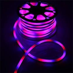 Гибкий неон двухстор. 8 х 18 мм, 25 м. LED-120-SMD5050, 220 V, RGB