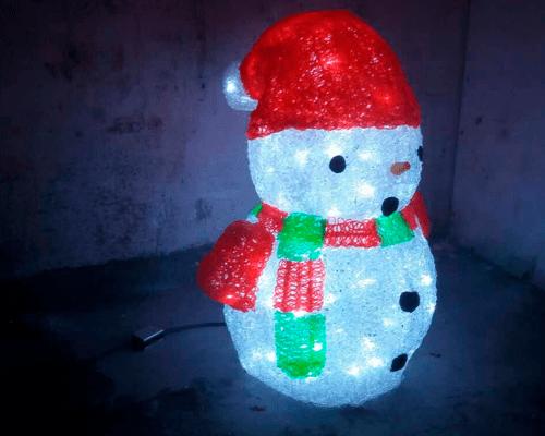 3D фигура Снеговик КТА-077B