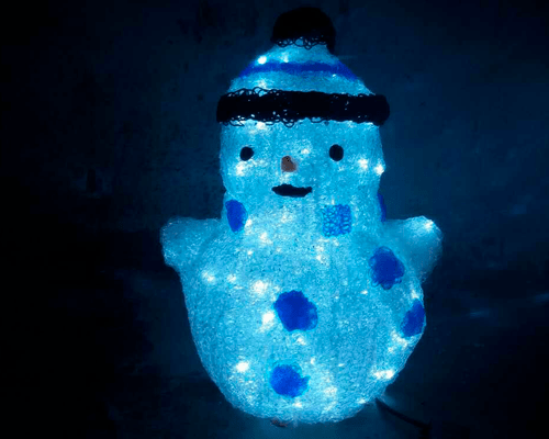 3D фигура Снеговик КТА-078