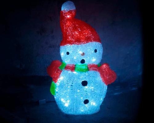 3D фигура Снеговик КТА-077А