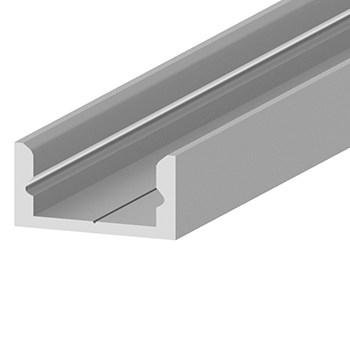 Накладной алюминиевый профиль (16х7мм)