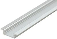 Встраиваемый алюминиевый профиль (22х6 мм)