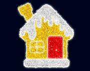 световой домик