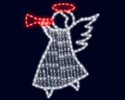 световой ангелочек