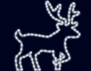 световой олень